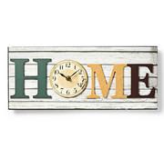 Nedis Houtstijl wandklok in lijst - Design Model 'HOME' - 43cm