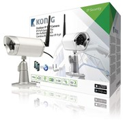 König Beveiligingscamera HD Buiten - 720P - Metaal - APP - Bewakingscamera
