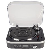 König Retro LP Platenspeler met Speakers - MicroSD - USB - Radio - 1.6 Watt