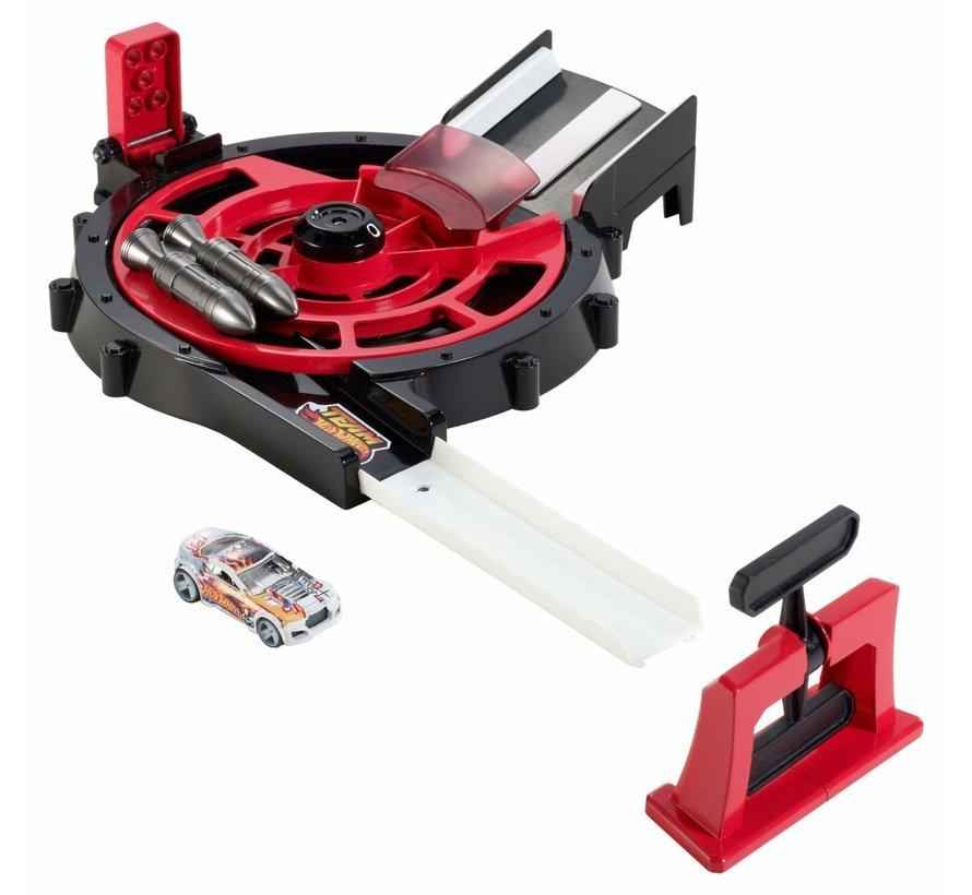 Hot Wheels - Centriforce Launcher - Met 1 auto - Speelset