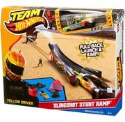 Mattel Hot Wheels - Slingshot Stunt Ramp - Met 1 auto - Speelset