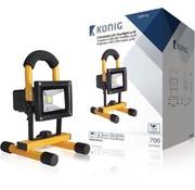 König Mobiele LED Bouwlamp - Oplaadbaar - 10W - 700 Lumen