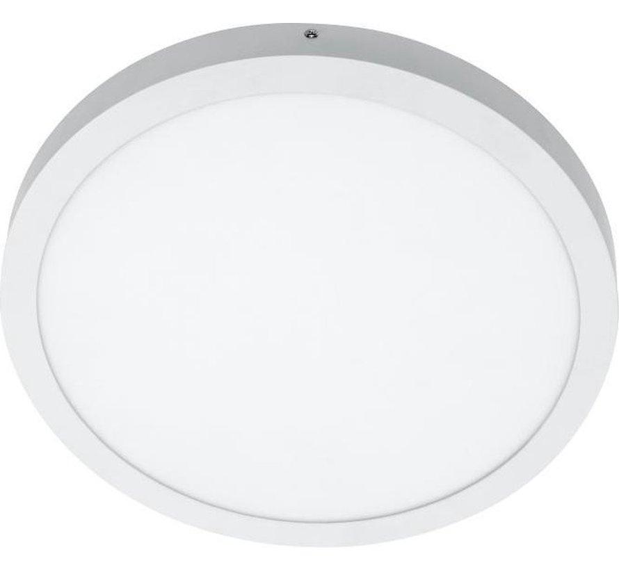 PLANON Paneelarmatuur LED rond - 28W - Warm wit - 40cm - Aluminium - Plafondlamp