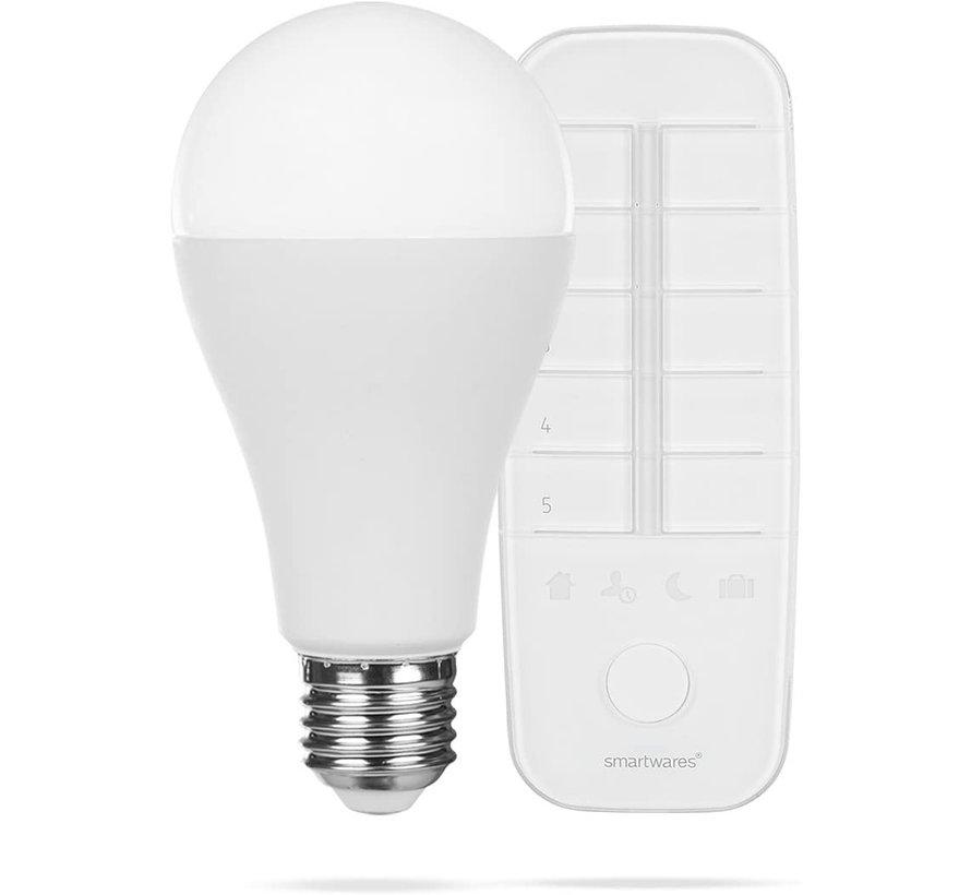 PRO Series Smart - Dimbare LED  kleurlamp - E27 - Incl. afstandsbediening
