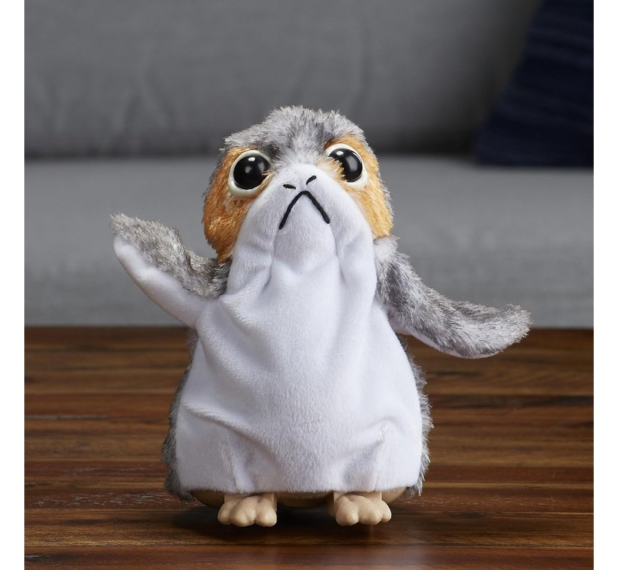 Disney Star Wars - The Last Jedi Porg - Interactieve Knuffel