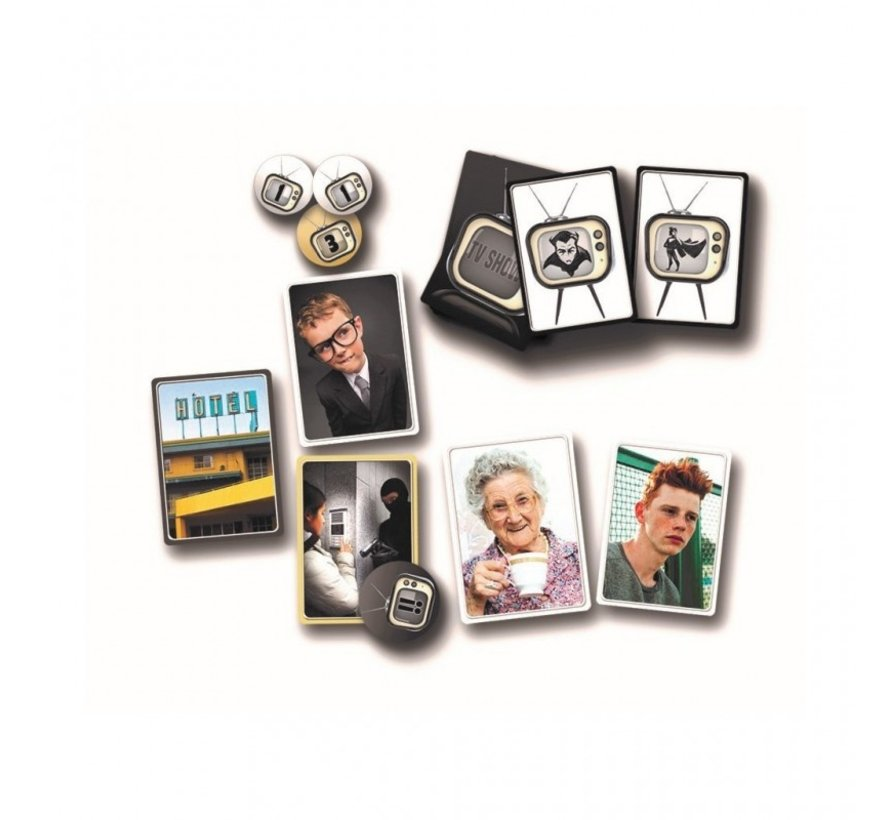 TV SHOW - Bordspel - Partyspel - 3 tot 7 spelers
