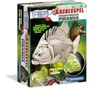 Clementoni Wetenschap & Spel - Archeospel - Piranha - Geeft licht in het donker
