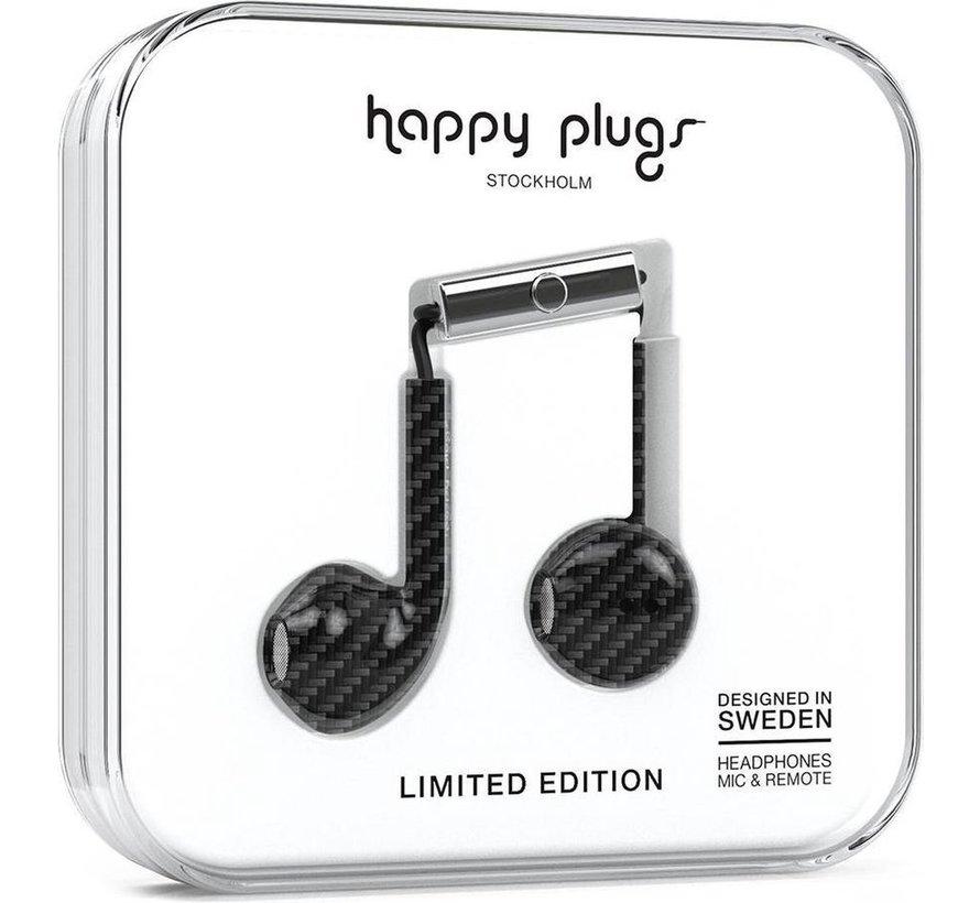 Earbud Plus - In-ear oordopjes - Zwart / Carbon - Limited Edition