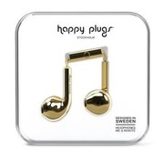 Happy Plugs Earbud Plus - In-ear oordopjes - Goud