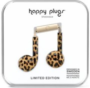 Happy Plugs Earbud Plus - In-ear oordopjes - Leopard - Limited Edition