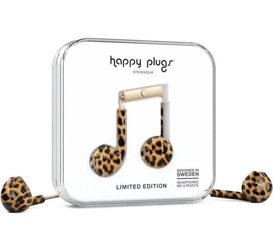 Earbud Plus - In-ear oordopjes - Leopard - Limited Edition