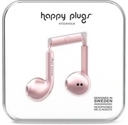 Happy Plugs Earbud Plus - In-ear oordopjes - Roze / Goud