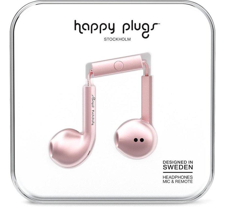 Earbud Plus - In-ear oordopjes - Roze / Goud