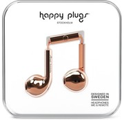 Happy Plugs Earbud Plus - In-ear oordopjes - Roségoud