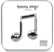 Happy Plugs Earbud Plus - In-ear oordopjes - Zilver