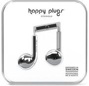 Happy Plugs Earbud Plus - In-ear oordopjes - Zilver