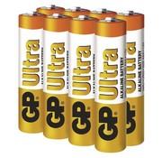GP Ultra Alkaline AAA batterijen - 8 stuks