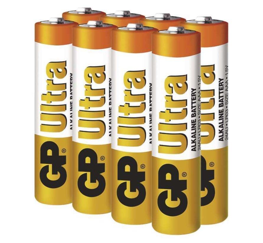 Ultra Alkaline AAA batterijen - Mega Voordeelpak - 40 stuks