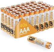 GP Ultra Alkaline AAA batterijen - Mega Voordeelpak - 40 stuks