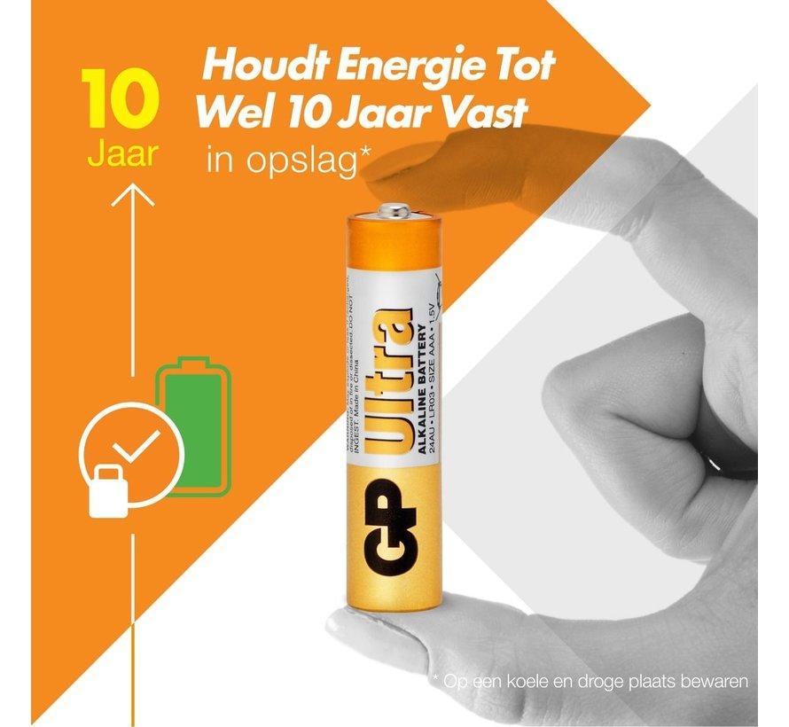 Ultra Alkaline AAA batterijen - Super Voordeelpak - 80 stuks