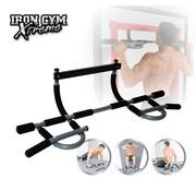 Iron Gym Extreme - Deurtrainer Optrekstang - Buikspiertrainer - Bekend van TV
