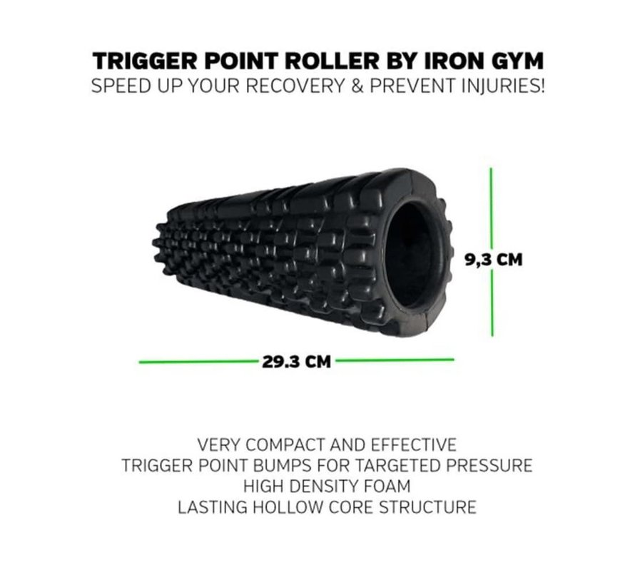 Essential Trigger Point Roller 30cm - Foam Massage Roller - Masseer je spieren