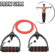 Iron Gym Weerstandsbanden - Tube Trainer - Verstelbaar - Fitness Elastiek