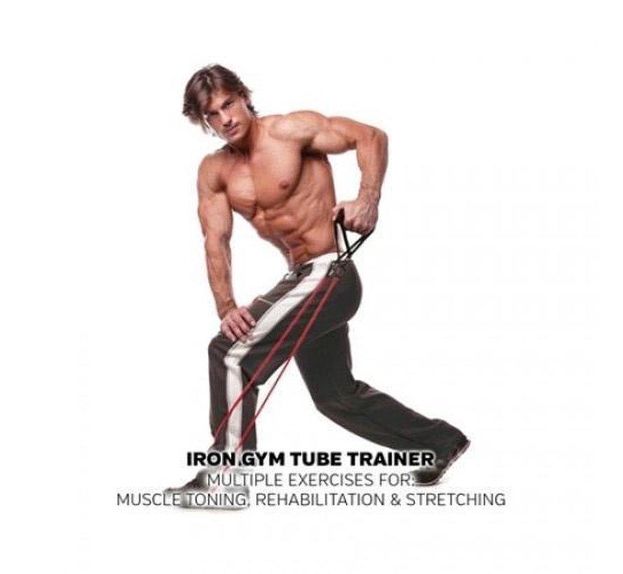 Weerstandsbanden - Tube Trainer - Verstelbaar - Fitness Elastiek
