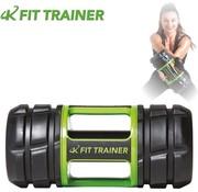 Iron Gym 7-in-1 trainer - Dumbbell - Kettlebell - Barbell - Ab Roller- Foam Roller