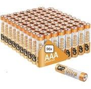 GP Ultra Alkaline AAA batterijen - MEGA voordeelpak  - 96 stuks - Jaarvolume