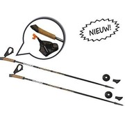 Hudora Nordic Walking Poles Composite Elegance 110cm - loopstokken / wandelstokken