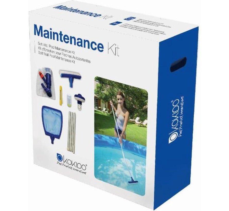 7-Delige Zwembad Onderhoudsset / Reinigingsset / Schoonmaakset