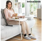 Innovagoods Multifunctionele inklapbare bijzettafel – bedtafel – laptoptafel – inklapbaar