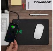 Innovagoods 2in1Muismat met Draadloos opladen - 5W Qi oplader