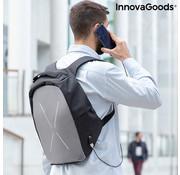 Innovagoods Anti diefstal rugtas Safty - Rugzak met USB oplaadpoort