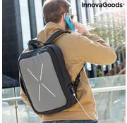 Innovagoods Anti diefstal rugtas-koffer Brifty - Rugzak met USB oplaadpoort