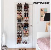 Innovagoods Dörgan Schoenenrek voor aan de Deur (35 Paar) - Deurhanger schoenenrek