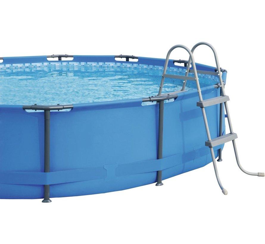 Flowclear - zwembadtrap - voor baden tot 84cm hoog