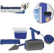 Renovator Paint Runner Pro - Verfroller met reservoir, hoekstrijker en randroller
