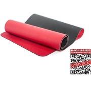 Gymstick Pro Yoga Mat - Met Online Trainingsvideo's - Rood / Zwart