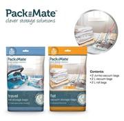 Packmate 6-Delige vacuümzakken set - Vacuüm Opbergzakken - Ruimte besparen