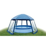 Blue Bay Zwembadoverkapping XXL - Pool House Type 2 - 600x520x280cm