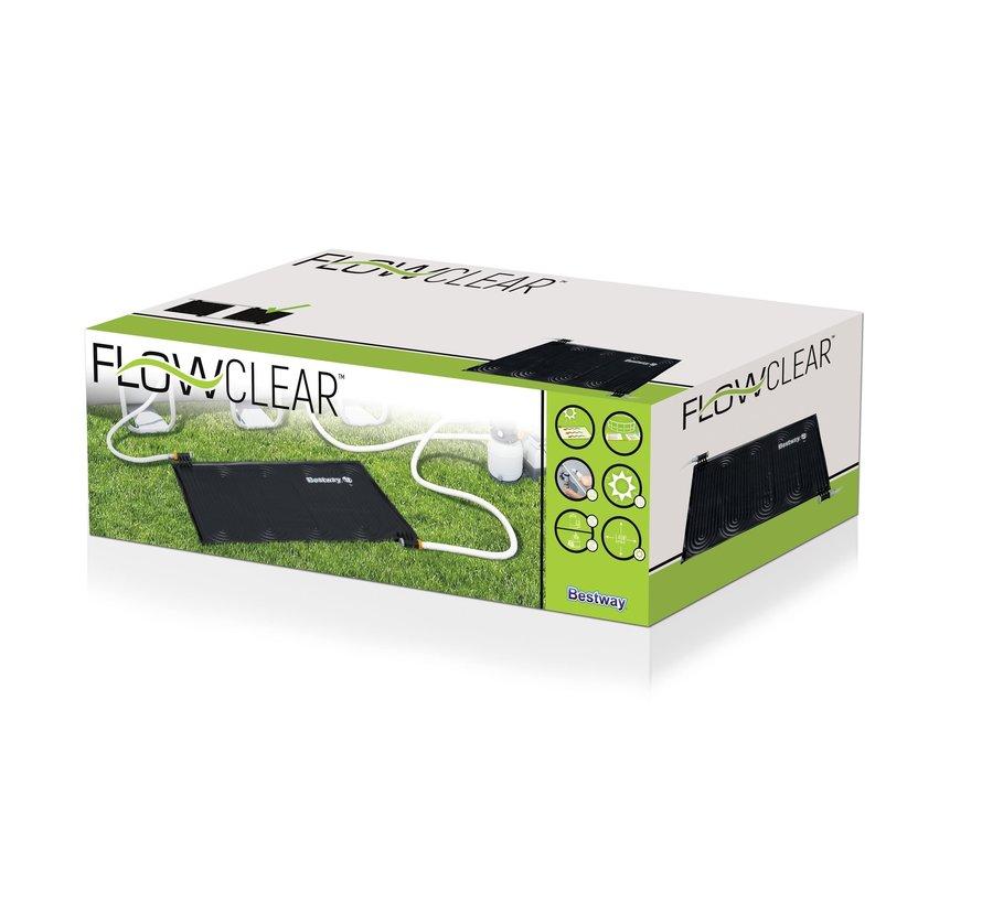 Flowclear - solar zwembad verwarming mat - zwart - 110cm breed x 171cm lang