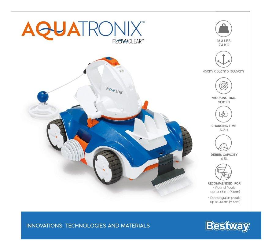 Flowclear - Aquatronix - Zwembad bodemstofzuiger robot