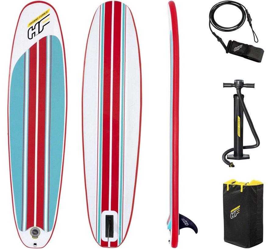 Hydro Force - Opblaasbaar Surfboard / SUP board - Compact surf 8