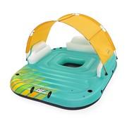 Bestway Hydro Force - Sunny Lounge - Drijvend eiland met zonnescherm