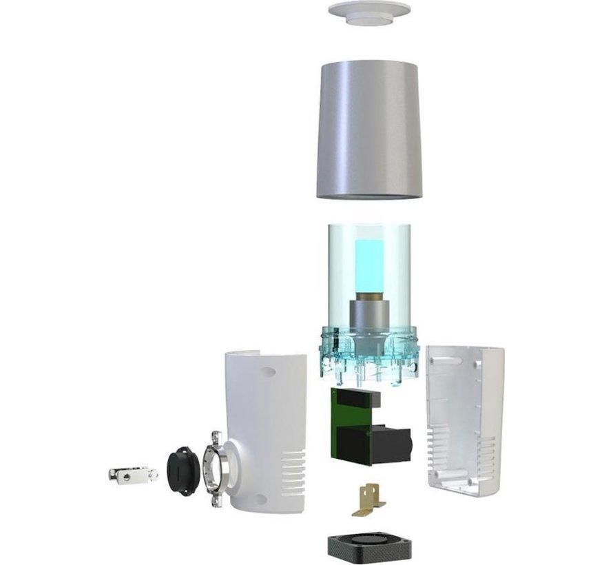 Luchtreiniger met UVC-licht - Neutraliseert Virussen en Bacteriën - Zuivere Lucht