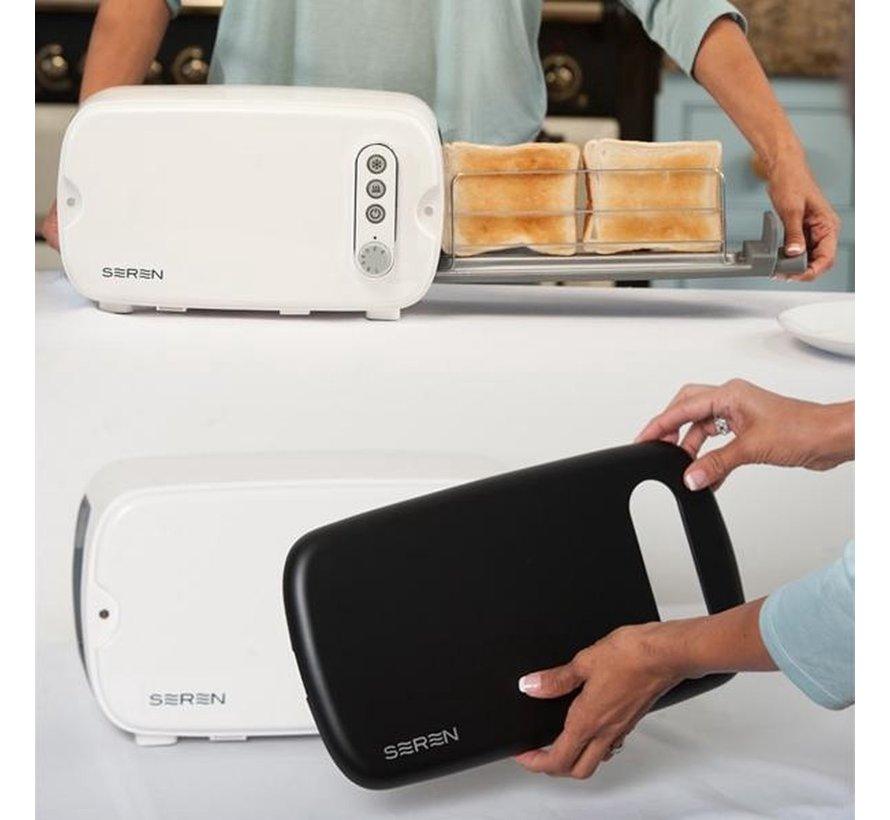 2-in-1 Cover voor de Seren Toaster - Magnetische cover en dienblad in één