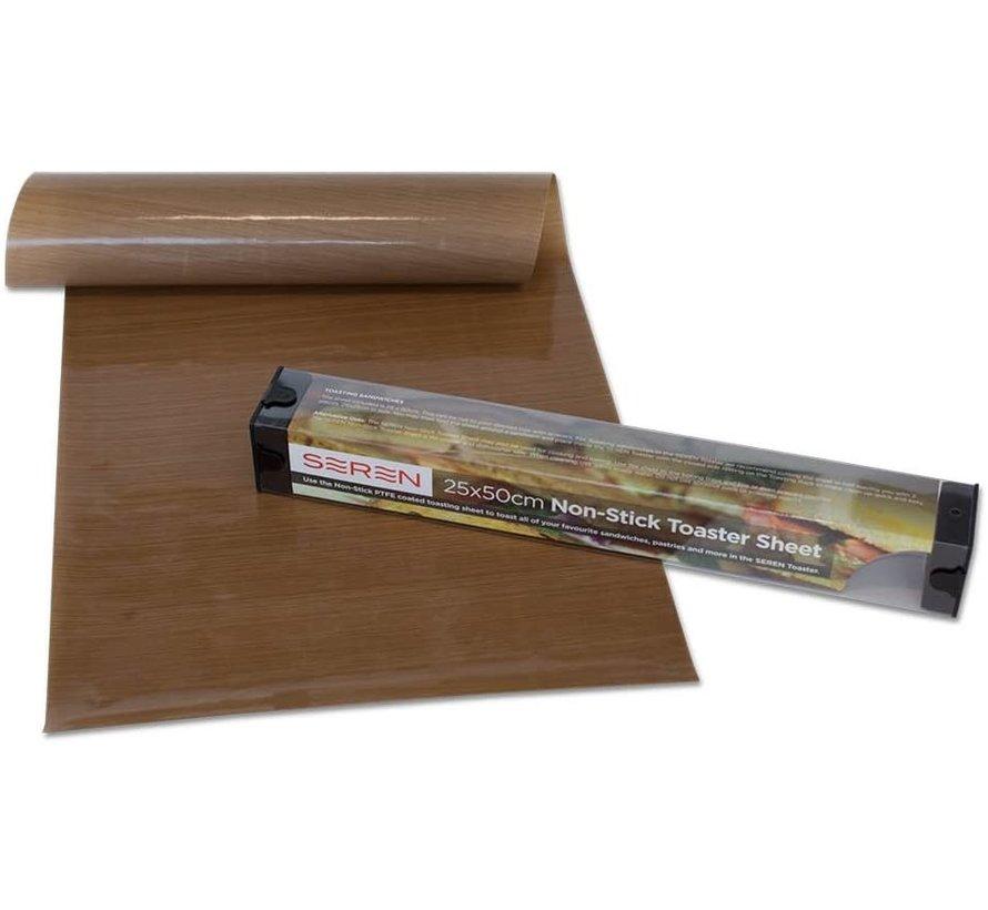 Herbruikbaar bakmat 25x50cm - kleefvrij bakfolie