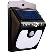 Vigilamp Solar LED wandlamp met bewegingsmelder / bewegingssensor